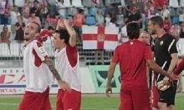 Sufrido triunfo de la UD Almería